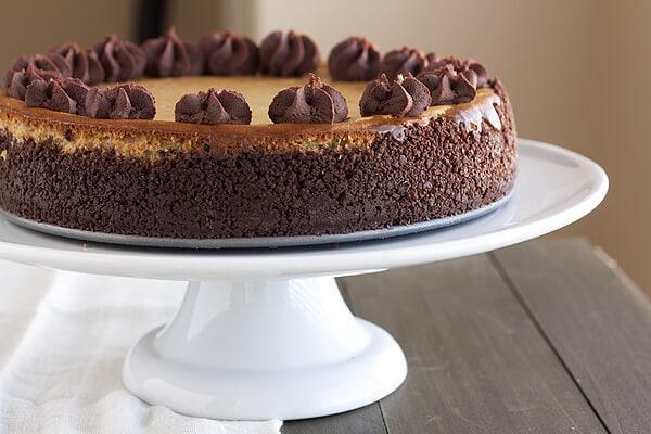 Cappuccino Fudge Cheesecake