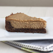 PB brownie cheesecake