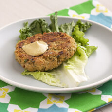 chickpea brown rice burgers