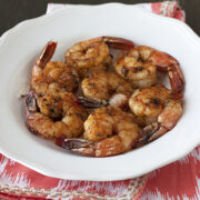 Grilled California Chopped Salad with Shrimp - Handle the Heat