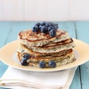 Lemon Poppyseed Pancakes from HandletheHeat.com