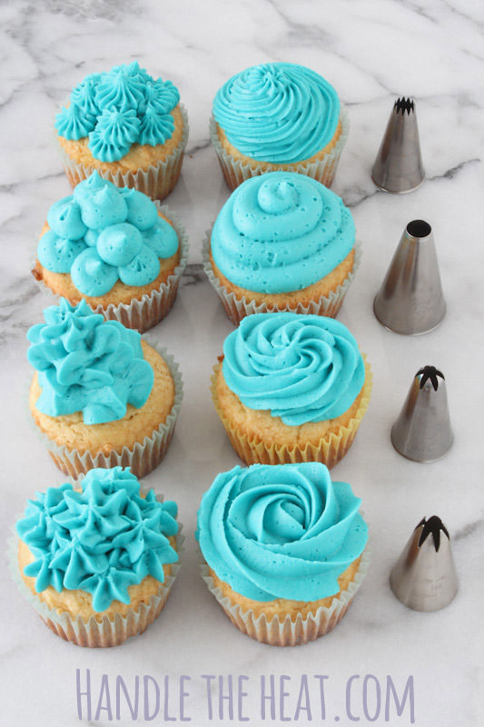 video cupcake decorating tips handle the heat