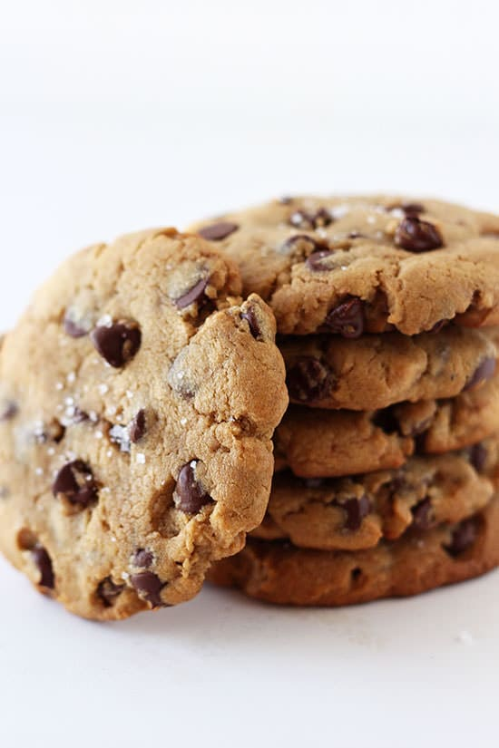 Peanut Butter Chocolate Chip Cookies - Handle the Heat