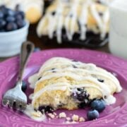 Buttery, moist, and tender homemade Blueberry Scones