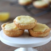 Adorably bite-sized Lemon Tassies are bursting with fresh and tangy citrus flavor and are simple and easy to make - perfect for entertaining!